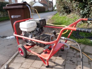 Driveway and Patio Cleaning Rutland Driveway Cleaning Company Honda Powered Pressure Washer