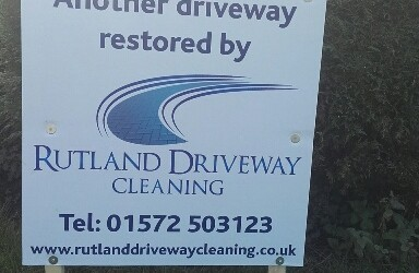 Driveway cleaning in Rutland