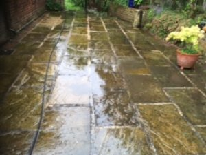 grantham patio clean