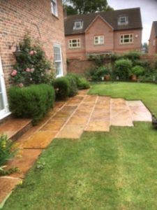 patio cleaning in grantham